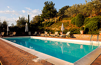 Country house with swimming pool, garden and playground for children in Tuscany